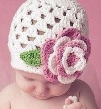Baby hat to crochet. Free pattern