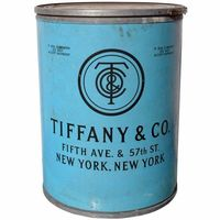 1920's Tiffany Original Shipping Barrel