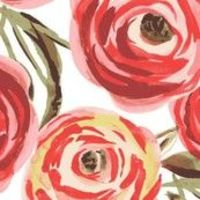 Spoonflower - Fifties Rose by Lauram