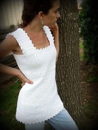 Sea Breeze top - free crochet pattern