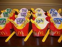 french fry word families