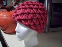 Scaled hat. Free pattern.
