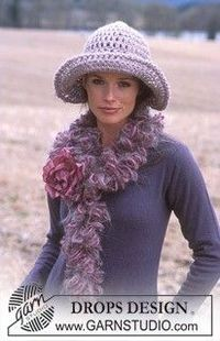 Crochet hat. Free pattern