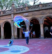 Giant bubble-making...can't wait!