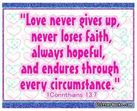 Love conquers all!