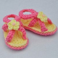 d285e2fde1e1d0 Posts similar to  Orchid Baby Sandals Crochet Pattern - Juxtapost