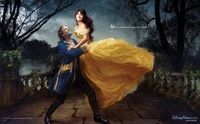 Penelope Cruz and Jeff Bridges appear as Belle and the transformed prince