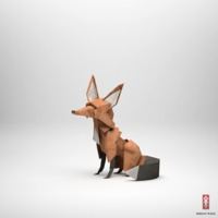 the paper fox project . be inspired - Shrimp Salad Circus
