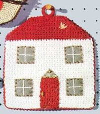 Home, Sweet Home Potholder pattern