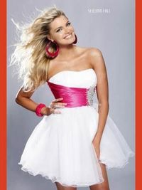 my prom dress. What I wanted!!