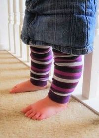 how to - baby legwarmers