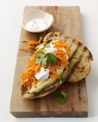 Spicy Carrot Sandwiches - Could also be good appetizers