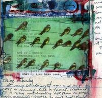 Journal page by Bridgette Guerzon Mills