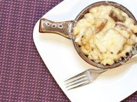 French onion Mac and Cheese!