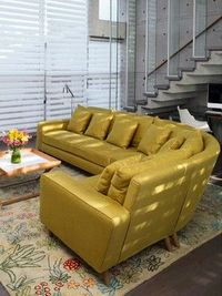 i have a yellow couch..but im liking that rug to go with it...