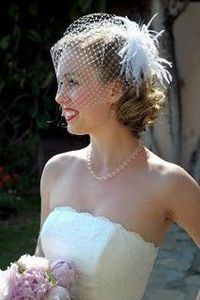 how to make a birdcage veil