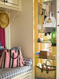 For the pantry - pantry pull out holds laundry and cleaning supplies