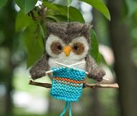 Owl Knitting