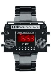 The Gunmetal Boombox Watch by Flud Watches | Karmaloop.com - Global Concrete Culture - StyleSays