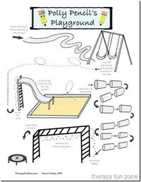 You are here: Home / OT / fine-motor / Pencil Obstacle Course